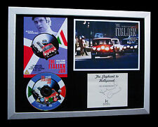 MICHAEL CAINE+SIGNED+FRAMED=ITALIAN+MINI+CARTER=100% AUTHENTIC+FAST GLOBAL SHIP!