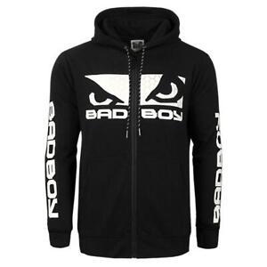 Bad Boy Ground N Pound Hoodie GPD Black Hoody BJJ No Gi MMA Casual