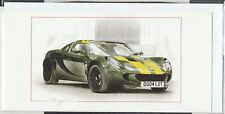 LOTUS ELISE TYP 25 JIM CLARK NEW ART PRINT GREETING GIFT BIRTHDAY CHRISTMAS CARD