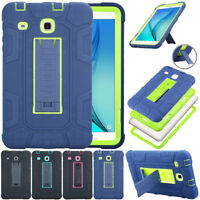 For Samsung Galaxy Tab 3/E Lite 7.0 Hybrid Rugged Shockproof Stand Case Cover