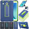 For Samsung Galaxy Tab E 9.6 T560 Tablet Hybrid Armor Shockproof Case With Stand