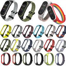 For Xiaomi Mi Band 3 4 5 Silicone Wrist Band Bracelet Smart Watch Band Strap