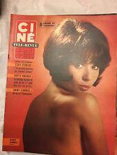Ciné Revue N°52 du 23 décembre 1965/  Dany Carrel - Dirk Bogarde
