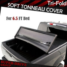 1988-2000 CHEVY/GMC C10 C/K Series 6.5' FT Bed Lock Tri-Fold Soft Tonneau Covers