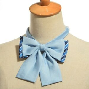 1pc Girls Preppy Japanese Style  JK Uniform Bow Tie Cravat 4 Colors