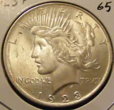 BU 1923 Peace Dollar 90% Silver - Very Nice # 130923-35