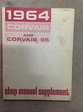 1964 CDN Chevrolet CHEVY CORVAIR & CORVAIR 95 Service Repair Shop Manual SUPP