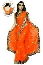 NW Bollywood Indien Sari Saree ROBE KAFTAN Ventre Danse Habiller Tissu Dress Top