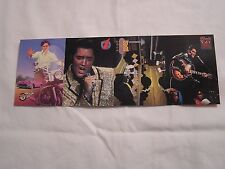 1992 River Group The Elvis Collection  PROMO STRIP with cards  3, 5, 6, 8