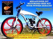 MEGAPOWER DIY 2-STROKE 66CC/80CC MOTORIZED BIKE KIT WITH THUNDER EXHAUST