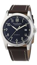 Swiss Army Infantry Victorinox Classic Automatic Black Dial Mens Watch 241565