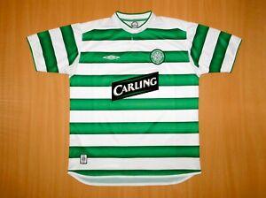 sale CELTIC 2003 2004 shirt L LARGE Umbro jersey trikot Scotland Glasgow CARLING