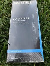 Go Smile go whiter pre-whitening gel 8 count 4 day system. Brand New Sealed.
