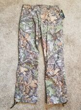 32/32 NWT UNDER ARMOUR Water Resistant Camo Hunting Pants Mossy Oak