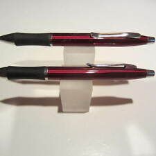 "2 TERZETTI METAL PDA ""2 in1"" STYLUS RED BALLPOINT PEN-IDEAL FOR FEDEX/UPS"