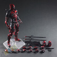 Play Arts Kai Deadpool Winston Wilson X men Figura de acción Estatua Juguete
