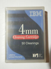 IBM DDS DAT 4mm Cleaning Tape/Cartridge 21F8763 50 Cleanings NEW