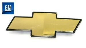 98-05 S10 Blazer 98-04 Chevy S10 Truck Gold Front Grill Bowtie Emblem NEW GM 687