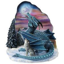 Moonsong By Ed Beard Jr. Dragon Moon Night statue Sculpture Figure