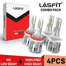 Lasfit LED Headlight Bulb for Toyota Camry High Beam 9005 Low Beam H11 2007-2018