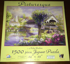 SunsOut Picturesque by Nicky Boehme 1500 Piece Jigsaw Puzzle Complete FREE SH