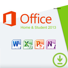 Microsoft Office Home and Student 2013 | 1PC Key Produktschlüssel 32 & 64 Bit