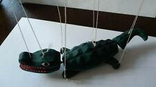 Marionette Krokodil Holz
