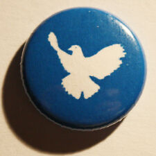 Friedenstaube Button Badge Frieden Peace Pace Punk white dove Anti Atomkraft Pin