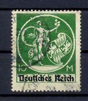 DR 137 V 10 Mark Bayern-Abschied Aufdruckfehler gestempelt geprüft (or112)