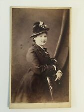 Victorian Carte De Visite CDV Photo - Sherwood - Workington  - Lady