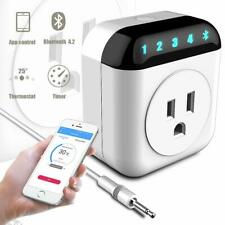 Bluetooth 4.2 Smart Plug App Remote Control Socket Wireless Thermostat Timer New