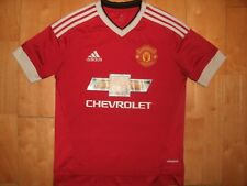 ADIDAS Youth CLIMACOOL MANCHESTER UNITED FC Football Soccer Large L Jersey Shirt