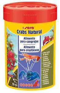 Sera Crabs Nature - 30g / 100mL Food Ornamental Aquarium Tank Variety
