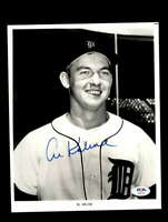 Al Kaline PSA DNA Coa Hand Signed 8x10 Photo Autograph