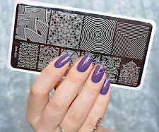 BORN PRETTY Nail Art Stamping Plate Vines Illusion Theme Image Template BP-L027