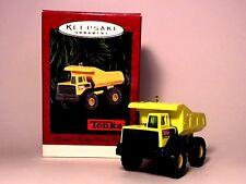 Hallmark Keepsake Tonka Mighty Dump Truck 1996 Christmas Ornament