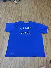 Men Nike Dri-Fit 2Xl Blue Activewear Top Shirt Crossfit Good Condition