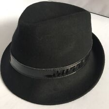 a64fe4ce2d9 Lovely Miss Sixty Ladies Black Lana Wool Fedora Trilby Hat