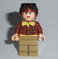HISTORICAL Lego Amelia Earhart NEW Custom Genuine Lego Parts Female Pilot