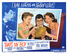 THAT'S MY BOY LOBBY SCENE CARD #8 POSTER 1951 LEWIS POLLY BERGEN MARION MARSHALL