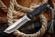 Kizlyar Supreme Vendetta D2 Satin Blade Outdoor Hunting Knife Quality Russian