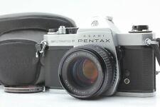 ASAHI PENTAX SPF SPOTMATIC F SMC TAKUMAR 55mm F/1.8 LENS KIT w/ LEATHER CASE