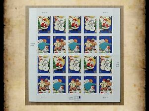 US Scott 3949-3952 Christmas Cookies 37 Cent 37c Sheet of 20 Stamps