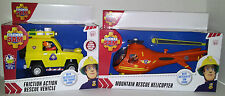 Fireman Sam - Friction Action Rescue Vehicle and Mountain Rescue Helicopter
