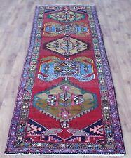 Traditional Vintage Wool 351cmX93cm Oriental Rug Handmade Carpet Rugs