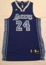 Kobe Bryant #24 Los Angeles Lakers Adidas Blue Sewn Retro NBA Jersey Small +2
