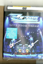Zz Top - Dvd - Live From Texas-122 Minutes-New-Sealed-2008-E agle Rock-Mint