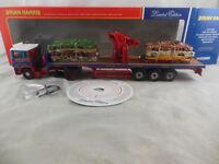 Corgi CC11910 ERF EC Series Flatbed Crane Trailer & Crushed Car Load Brian Harr