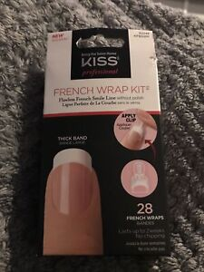 Kiss Professional french Wrap Kit Nailkit