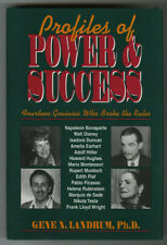 Gene Landrum: Profiles of Power and Success INSCRIBED FIRST EDITION